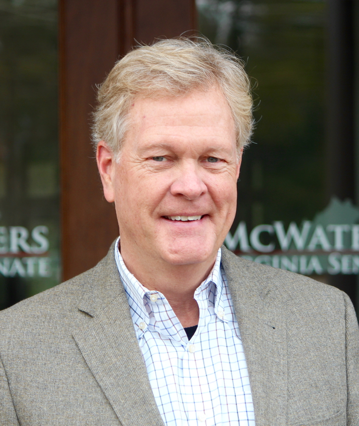 McWaters looks ahead, reflects on Virginia service in 8th senate district