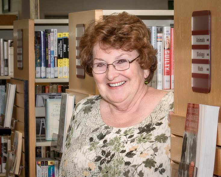Us: Library and Senior Resource Center Volunteer Anne Bright