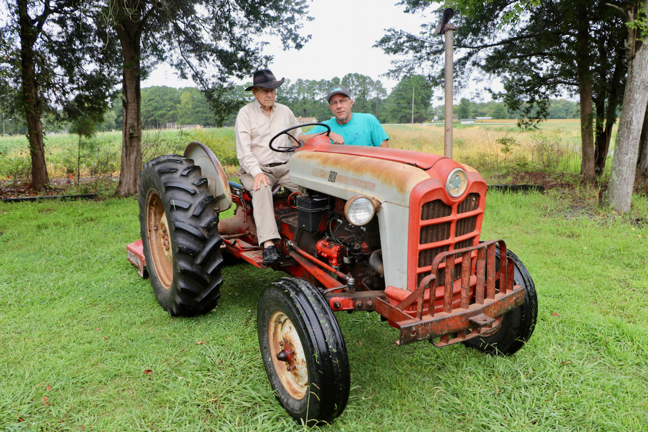 Agriculture: 'Plow Day' today at Bonney Bright's farm in Creeds