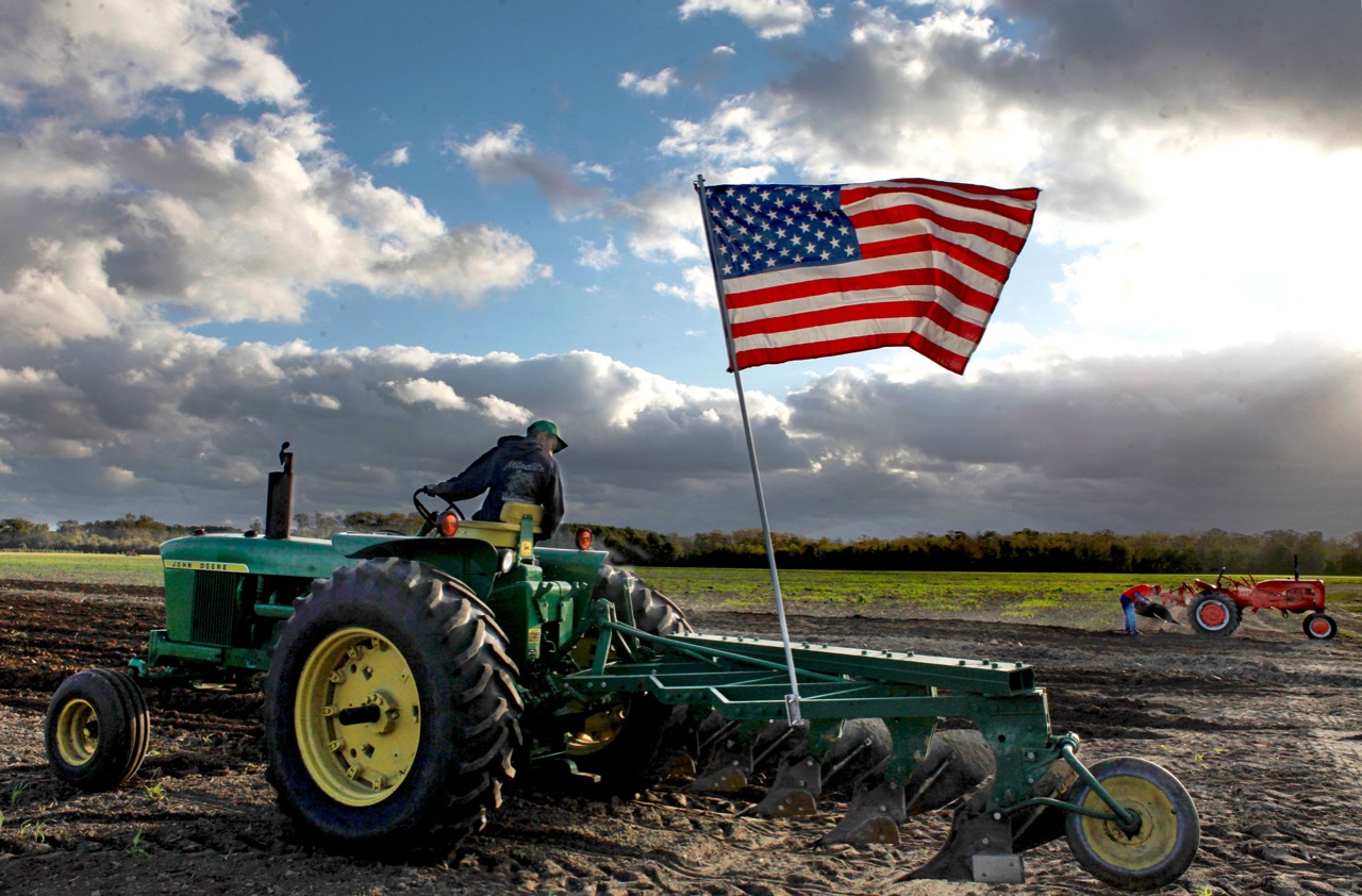 Second annual Plow Day brings parade of antique tractors to turn soil in rural Virginia Beach